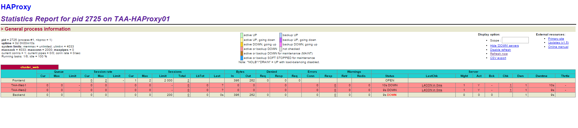 Configure a Proxy HA on Cloudstack - EN Ikoula wiki